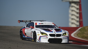 John Edwards Scores Gtlm Pole Position At Cota In No 24 Bmw M6 Gtlm Alexander Sims To Start P3