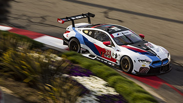 Bmw Team Rll Qualifies Seventh And Eighth For The Bubba Burger Sports Car Grand Prix At Long